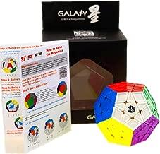 CuberSpeed X-Man Galaxy Megaminx (Sculpted) Stickerless Magic cube Mofangge Qiyi Megaminx Stickerless Speed cube