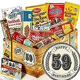 Geschenkbox Kekse / DDR Box / Geschenke 59. Geburtstag / Geschenk 59. Geburtstag