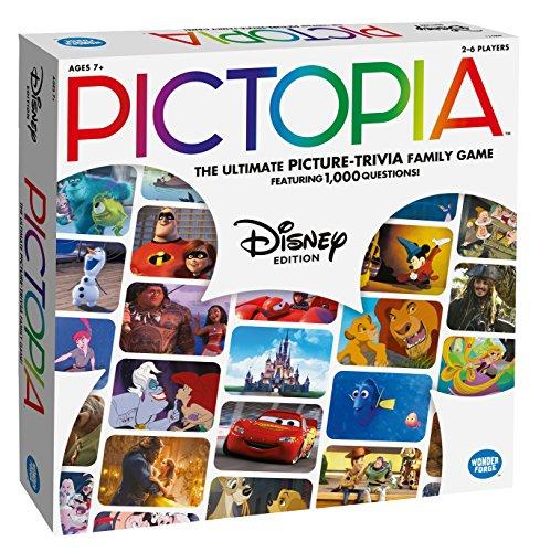 Ravensburger 26023 Pictopia Disney Edition-The Picture Trivia Game, Mehrfarbig