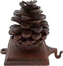 HomArt Stocking Holder Pinecone - Cast Iron (Rust)