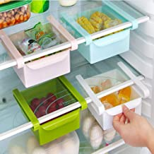 CHAHANG Creative Refrigerator Shelf Storage Rack Pull-Out Storage Box Food Container Table Home Kitchen Tools Storing Smal...