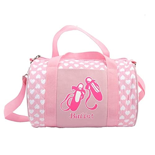 Youth Girls Dance Bag Toe Shoes Ballet Embroide Pack Multicolored Dance Hand Bag