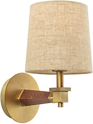 Hart lighting 10111171 Speed Square 1-Light Sconce with Fabric