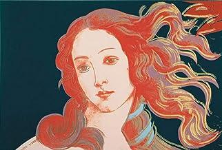 Andy Warhol - Details of Renaissance Paintings, 1984 (Sandro Botticelli, Birth of Venus, 1482) Póster Impresión Artística (36 x 28cm)