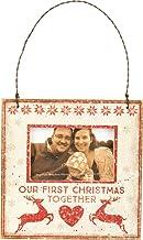 إطار صورة معلّق صغير من Primitives by Kathy Rustic ، أول كريسماس