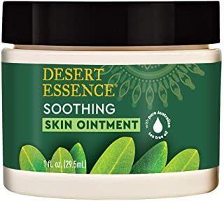 Desert Essence Tea Tree Oil Skin Ointment - 1 Fl Ounce - Jojoba & Lavender Essential Oils - Vitamin E - Sweet Almond Extra...