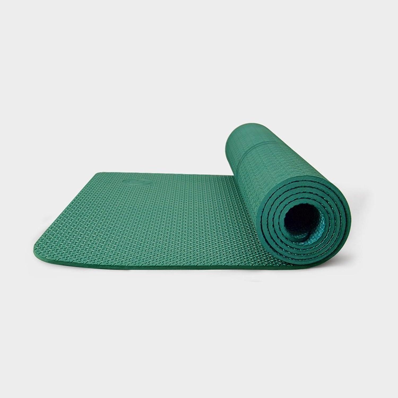 CRRQQ Yogamatte - Verbesserte Yogamatte Umweltfreundliche rutschfeste Trainings- und Fitnessmatte mit Tragegurt, Trainingsmatte für alle Arten von Yoga, Pilates und Bodenübungen   72 x 24,4 Zoll