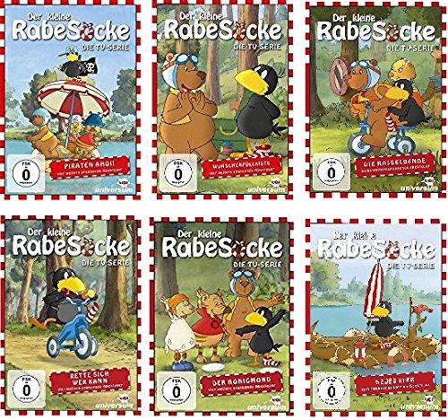 Der kleine Rabe Socke - Die TV-Serie 1-6 (6 DVDs)