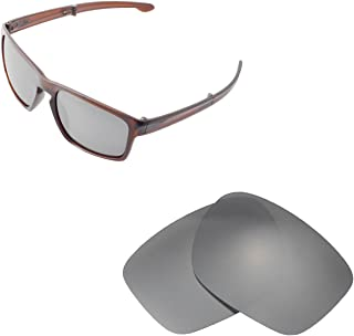 Walleva Replacement Lenses for Oakley Sliver F Sunglasses - Multiple Options Available