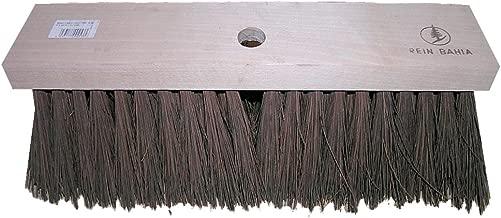 Flachholz Straßenbesen 28 cm Elaston rot