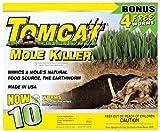 Best Mole Killers - HealthandOutdoors Tomcat Mole Killer 10-Pack Worm Formula BL34300 Review