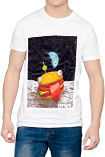 Mad Engine Fortnite Burger Space Adult White T-Shirt
