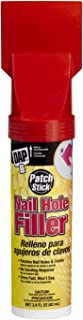 Dap 12314 Patch Stick Nail Hole and Crack Filler, White, 2.8 oz