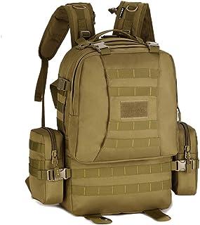 YUHAN Vandringsryggsäck, 50 l taktisk ryggsäck militär arméstrid ryggsäck MOLLE 15,6 tum bärbar dator ryggsäck vandringsry...