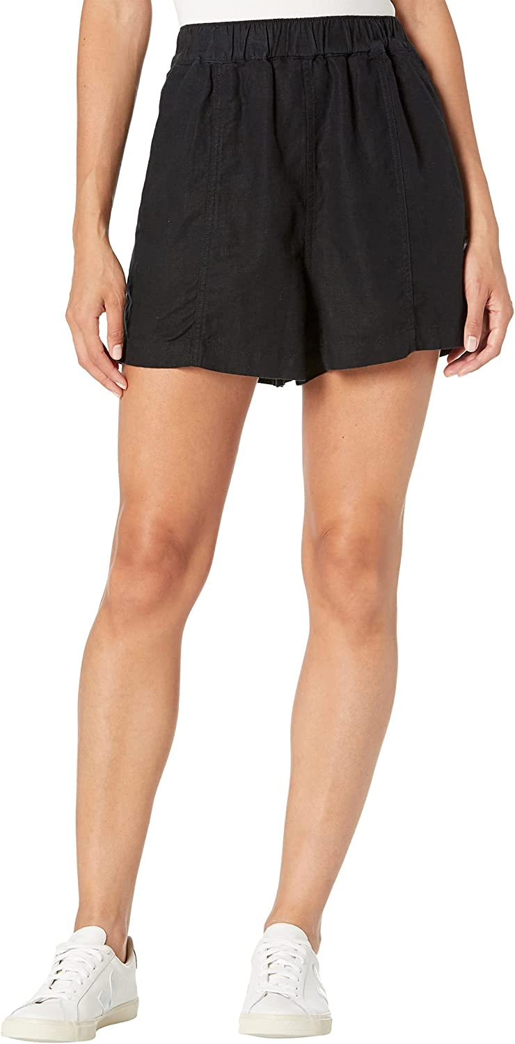 Madewell Pull-On Shorts with Seaming Detail