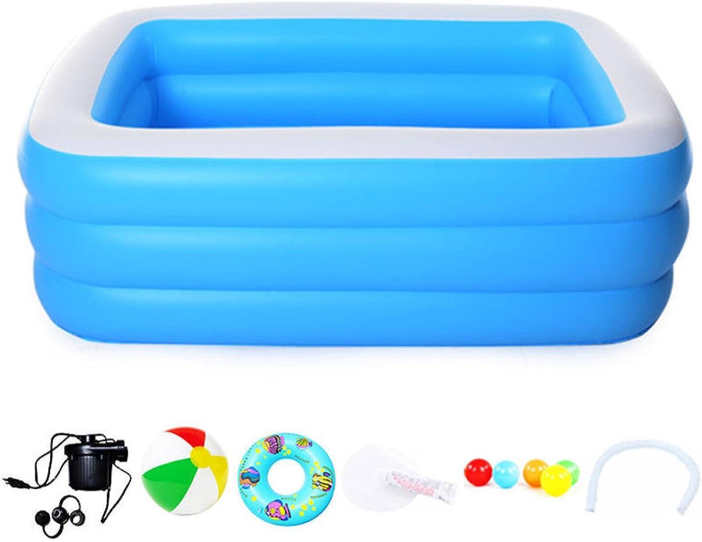 Baby Erwachsener Zu Hause Aufblasbar Pool überdimensioniert Kinder Verdickung Baby Baden Pool Schwimmbad,BasicPackage1.9m