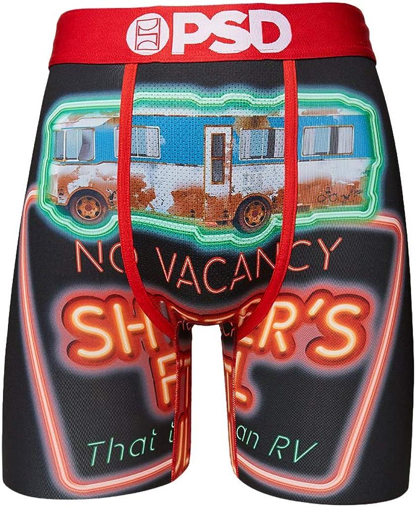 PSD Underwear Men's Stretch Wide Band Boxer Brief Underwear - Christmas Vacation