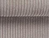 Polsterstoff Lincoln Breitcord-Optik, Samtstoff, Möbel