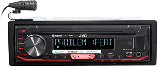 JVC KD-X260BT Digital Media Receiver Featuring Bluetooth/USB / Pandora/iHeartRadio / Spotify / 13-Band EQ,BLACK