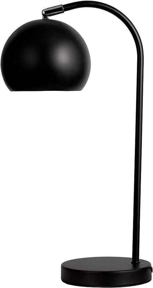 Pauleen 48138 True Love Tischleuchte aus Metalll Schreibtischlampe max40W E27 Schwarz 230V Metall