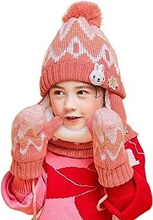 RAGAZZI RAGAZZE BAMBINI ANIMALI CAPPELLO TAGLIA UNICA CALDI INVERNALI SCI cappello bambino NEW HAND Knitted