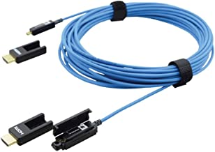 Kramer CP-AOCH/XL-50 | 50 Foot Fiber Optic HDMI Plenum Cable Removable Connectors