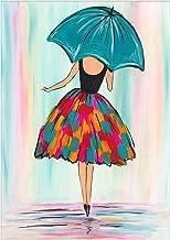 Stalente DIY 5D Diamond Art for Beginner Full Round Drill Ballet Girl 13.7 X 17.7 Inch..
