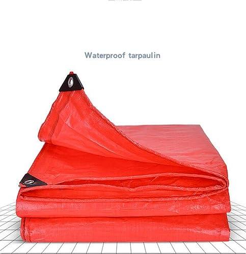 MYYDD Bache imperméable en Plastique Tissu Anti-Pluie antipoussière Prougeection Solaire Feuille de bache Couverture Hangar Tissu