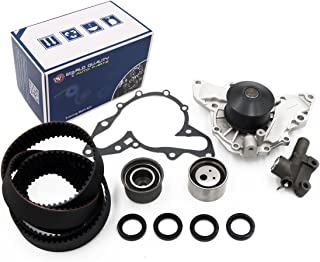 Timing Belt Kit Water Pump w/Gasket Tensioner for 2002-2006 Hyundai XG350 Santa