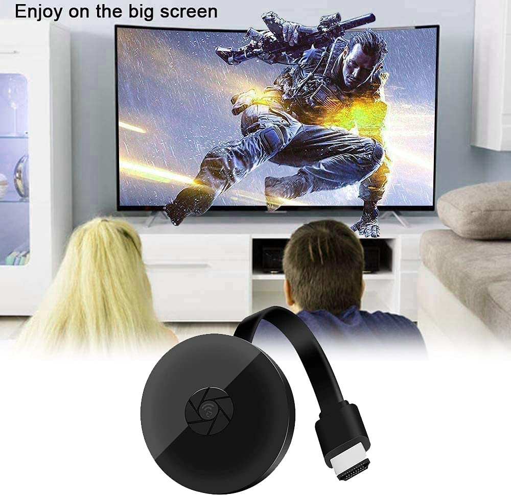 Ctzrzyt Streaming Sticks, HDMI-Compatible TV,WiFi Display Dongle,1080P Dongle Receiver for Android