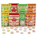 Sweets in The City Paquete de sabores variados, apto para veganos y vegetarianos, sin gluten (paquete de 8)