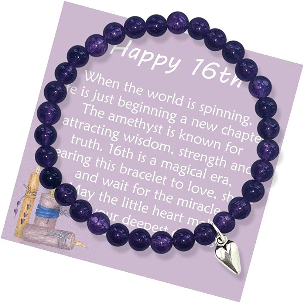 16th Birthday Gifts for Girls Turning 16 Bracelet wi – Bead Ranking TOP19 Latest item