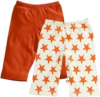 Babysoy Comfy Solid + Star Pattern Pants Set