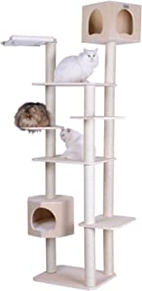 Armarkat 89 inch Premium Solid Wood Cat Tree Tower