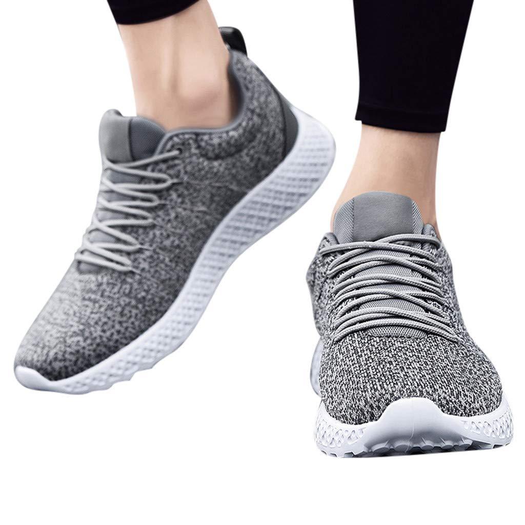 Posional Hombre Zapatillas de Senderismo Deportivas Aire Libre y Deportes Que se Ejecutan Transpirable Zapatos de Cordones de Camuflaje Planos: Amazon.es: Oficina y papelería