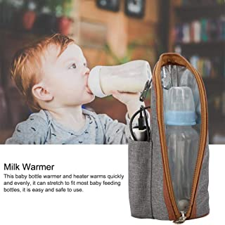 حقيبة تسخين حليب محمولة USB سخان تسخين حقيبة قابلة للطي تسخين زجاجة كم للسفر الطفل