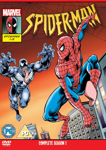 New Spiderman 1995 - Season 1 Volumes 1 And 2 [DVD]