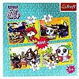 TREFL Puzzle 4w1 - Littlest Pet Shop, Mile wspomnienia [Puzzle]