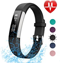 LETSCOM Fitness Tracker with Heart Rate Monitor, Slim Sports Activity Tracker Watch,..