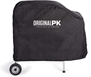 PK Grills PKOA-CSX-BS-X PK Original Lightweight Canvas Grill and Smoker Cover, Fits All PK Original Models, Black