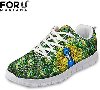 Fashion Tiger Wolf Animal Style Men's & Women's Lightweight Mesh Running Shoes