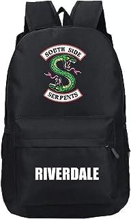 Hombre Mujer Riverdale Mochila Portátil Impermeable Riverdale Lona Escuela Viaje Al Aire Libre Oficina