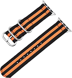 Autulet Compatible For Apple Watch Band Nylon Replacment Bands Iwatch Series 4 Series 3 Series 2 Series 1