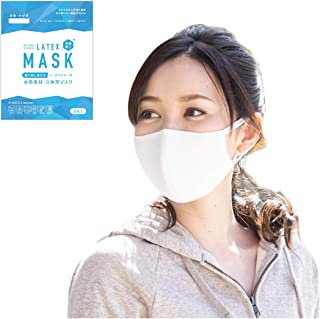 RINNE(リンネ) マスク 水着素材 3枚入り 洗える 接触冷感加工 (q-max0.3) 夏用 ドーム形状 調整式耳掛け ノーズワイヤー入り