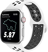 MITERV Sport Bands Compatible with Apple Watch Band 38mm 42mm 40mm 44mm iWatch Bands Replacement for Apple Watch Series 4 Series 3 Series 2 Series 1 Women Men S/M M/L
