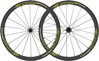 Tuff EXO Carbon Wheelset 35-45mm Carbon Rims+Carbon Fiber Spokes 700c Road Tubeless Clincher Wheels