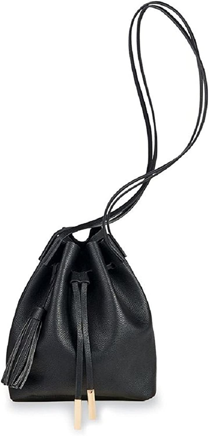 Mud Pie TAHOE BUCKET BAG BLACK