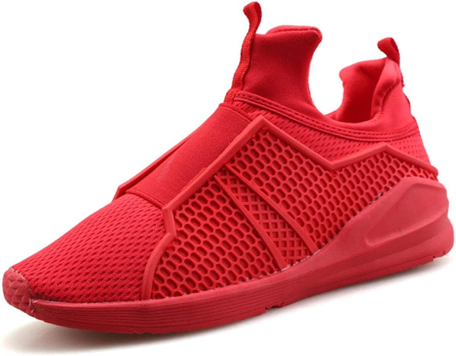 JHHXW Casual shoes hollow mesh shoes sports wind breathable comfortable leisure lazy shoes student tide male
