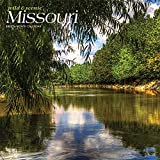 Missouri Wild & Scenic 2022 12 x 12 Inch Monthly Square Wall Calendar, USA United States of America Midwest State Nature