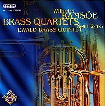 Ramsoe: Brass Quartets Nos. 1, 2, 4 and 5